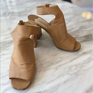 Authentic Prada Nude Heeled Sandals